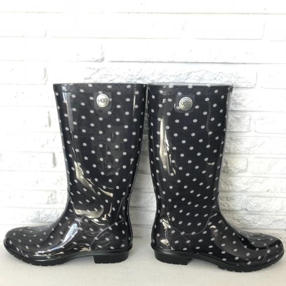 a9280650dd6 UGG Shaye Polka Dots womens rain boots